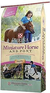 purina mini horse feed