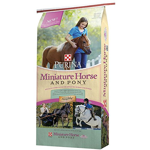 Purina Animal Nutrition Purina Mini Horse and Pony 50lb Textured