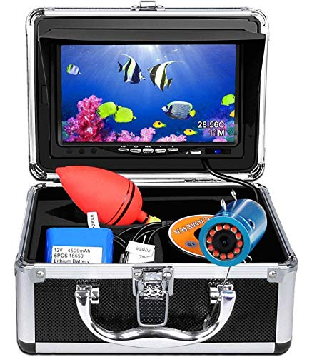 Portable Underwater Fishing Camera,HXEY with Water Depth and...
