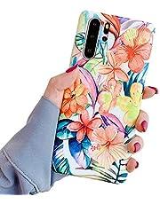 Oihxse Beschermhoes voor Samsung Galaxy Note 10, siliconen, bloemen, glanzend, zacht, ultradun, motief elegant, krasbestendig, schokbestendig, A3