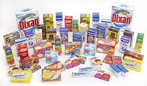 Polly Super Conjunto para el supermercado Infantil Espana 50 Pc
