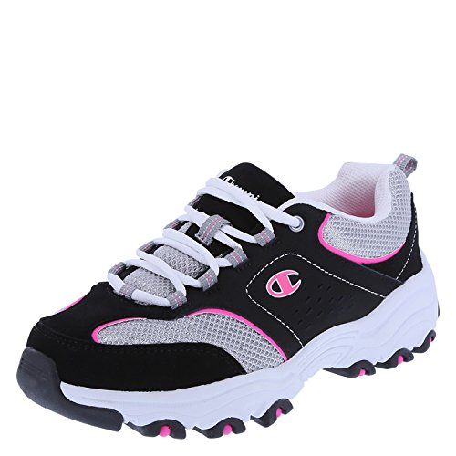 Champion Women's Black Pink Women's Margaret Runner 5 Wide