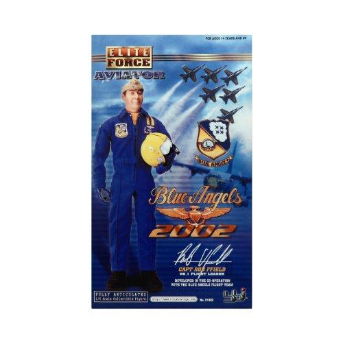 BBI 1/6 Elite Force Blue Angel Pilot  Rob Ffield  No.1 Flight Leader