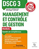 DSCG 3 Management et contrôle de gestion - Réforme Expertise comptable 2019-2020