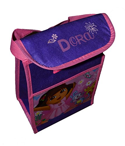 Insulated Licensed Character Vertical Lunch Bag (Dora)