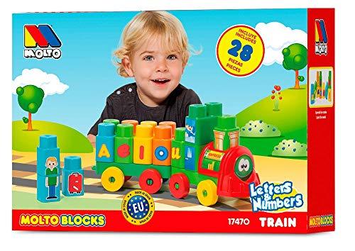 MOLTO Blocks - Tren, 28 Piezas 17470