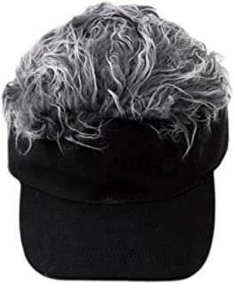 Best golf hat with fake hair Reviews