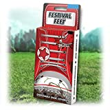 Schuhüberzieher ''Festival Feet'' - Rot | Regenschutz für Schuhe | perfekt für Festivals |...