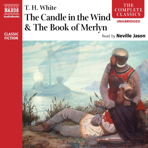 The Candle in the Wind and The Book of Merlyn audiobook cover art