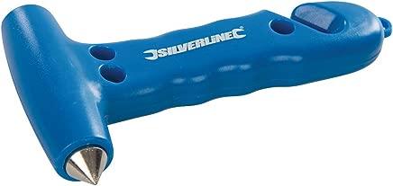 Silverline 395235 Emergency Hammer  amp  Belt Cutter