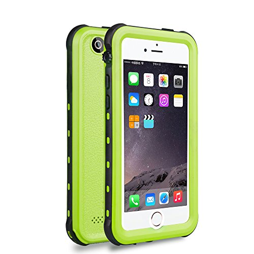 iPhone 5 5S SE Waterproof Case, Dooge Shockproof Dirtproof Snowproof Rain Proof, Heavy Duty Full Protection Phone Case Cover Rugged IP68 Certified Waterproof Case for iPhone 5 5S SE