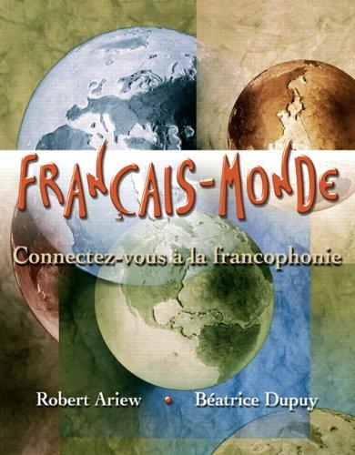 Français-Monde: Connectez-vous à la francophonie &MyLab French with Pearson eText - Access Card -- Francais-Monde: Conn