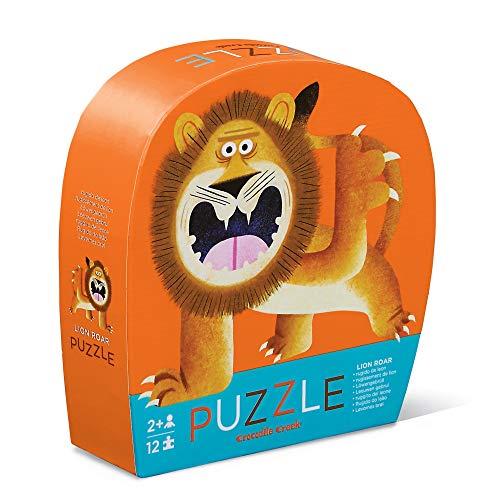 CROCODILE CREEK CC-3841194 - Mini puzle del león de 12 piezas (Juguete)