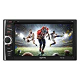 myTVS Double Din HD Touch Screen Car Stereo Media Player with USB/MP5/MP3