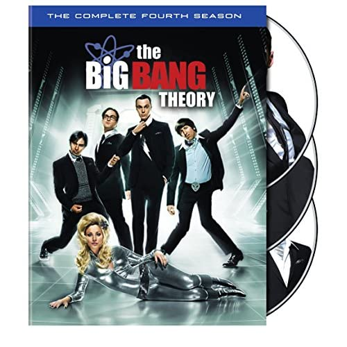 Big Bang Theory: Complete Fourth Season (4 Dvd) [Edizione: Stati Uniti]