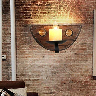 Moderne kroonluchters plafond lampen Hanger hout muur schansen Loft wandlampen Rustieke Lodge Schilderen Koffie Bar Restaurant Hotal Hallyway 3C ce Fcc Rohs voor Woonkamer Slaapkamer