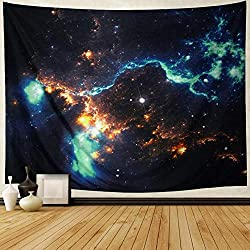 Leofanger Galaxy Tapestry Wall Hanging Decoration