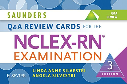 51xFI7cN9QL - Saunders Q & A Review Cards for the NCLEX-RN® Examination - E-Book