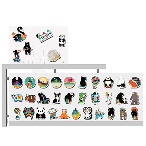 DSSJ 100 Pegatinas de Animales Bonitos para teléfono móvil, Taza de Agua, Cuaderno, Maleta, Color, Dibujos Animados, Pegatinas Decorativas Impermeables