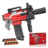 Toys for 5 6 7 8 Year Old Boys, Holiky Toy Foam Blasters & Guns for Nerf Gun Automatic, Electric DIY Toy Guns for Kids Ages 4-8 with 100pcs Elite Darts 3 Modes Shooting, Kids Toys Gifts for Boys Girls