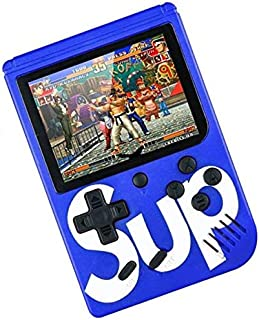 Praxan Sup Handheld 400 in 1 Classic Retro Gaming Console 3 inch LCD USB Rechargeable Lithium-ion Battery with TV Output C...