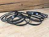 10 hojas de sierra de cinta, 1400 mm x 6 mm x 0,65 mm, 6ZpZ