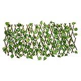 Treillis en bois pour plantes - Protection contre les UV -...