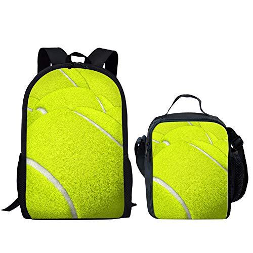 Coloranimal Mochila escolar de 2 piezas con bola fresca impresa mochila y...