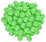 Fairly Odd Novelties 3/4' Mini Ping Pong/Table Tennis/Beer Pong Round Balls (100 Pack), 19mm, Green
