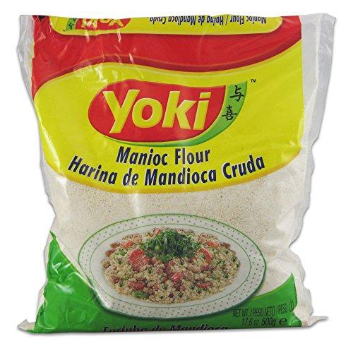Yoki farine de manioc / Farinha de Mandioca Cruda 500g