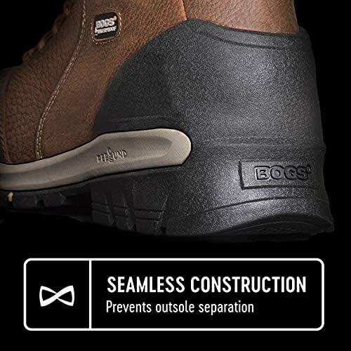 "Men/'s Bogs Bed Rock Mid Composite Toe 6/"" Work Boots 72302CT Black Multi NIB"