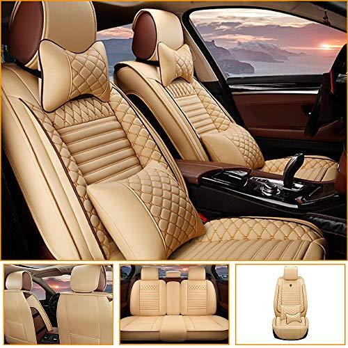Fundas Asientos Coche para Jaguar F-Pace E-Pace I-Pace F-Type S-Type X-Type Protector Asiento Cuero