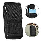 ykooe Handy Tasche Gürteltasche Nylon Hüftentasche für iPhone 11,7,6, Huawei/Honor/Samsung Galaxy...