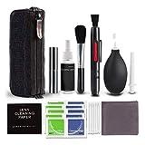Kit de limpieza para cámaras réflex digitales con botella de spray recargable, limpiador de lentes para cámaras Canon, Nikon, Pentax, Sony, DSLR