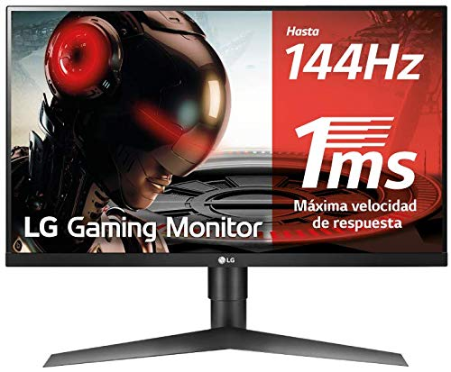 Monitor Gaming FHD de 69 cm LG 27GL650F-B