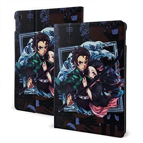 Case For iPad iPad Case Ipad cover Demon Slayer Kimetsu No Yaiba Movie Kamado Tanjirou Smart Stand Back Cover Anti-Scratch Auto Wake/Sleep Protective Case