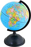 IRunningSystem BeyondTreasure Mini globo terráqueo para niños, escritorio u oficina (diámetro: 14 cm)   educativo/geográfico/decoración
