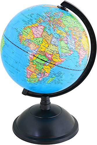 IRunningSystem BeyondTreasure Mini Globus für Kinder, Schreibtisch oder das Büro (Durchmesser: 14 cm) | Pädagogisch/Geografisch/Dekoration
