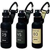 JOKnet スプレーボトル SLOWER スロウワ― 50ml アルコール対応 遮光 おしゃれ 容器 ボトル 霧吹き 3本アソート F