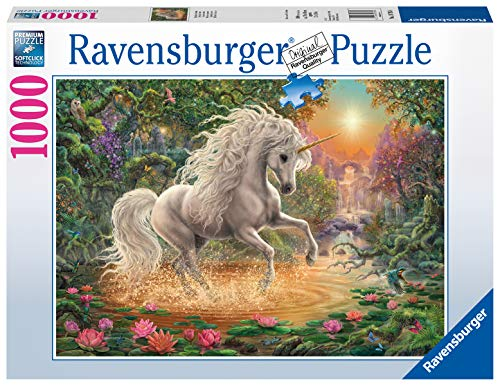 Ravensburger Puzzle, Puzzle 1000 Pezzi, Unicorno Mistico, Collezione Fantasy, Puzzle per Adulti, Puzzle Ravensburger - Stampa di Alta Qualità