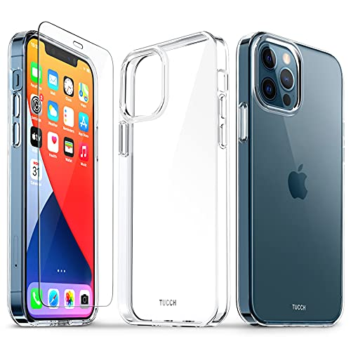 TUCCH Funda Compatible con iPhone 12 Pro 5G(6.1