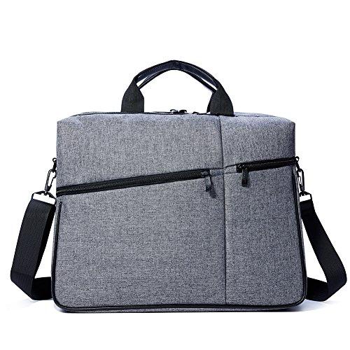Laptop Bag 15-15.6 Inch, Waterproof Shockproof Multi Pockets Laptop Shoulder Messenger Bag Case Briefcase Fits up to 15-15.6 inch Laptop