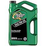 Quaker State Motor Oil, Synthetic Blend 5W-20 (5-Quart, Single Pack)