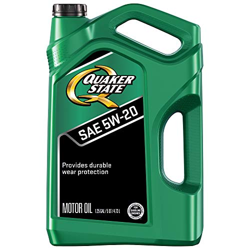 Quaker State Motor Oil, Synthetic Blend 5W-20 (5-Quart, Single Pack)