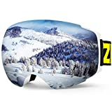 ZIONOR X4 Ski Snowboard Snow Goggles Magnet Dual Layers Lens...