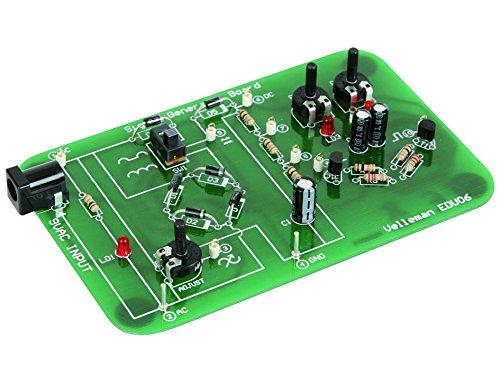 Velleman EDU06 Oscilloscope Tutor Board Kit, Multi-Colour