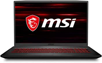"MSI GF75 Thin Gaming Laptop, 17.3"" FHD 144Hz IPS Screen,Intel Core i5-10300H Processor Up to 4.50 GHz, NVIDIA GTX 1650Ti G..."