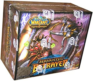 World of Warcraft (WoW) TCG: Servants of the Betrayer Booster Box (24 Packs)