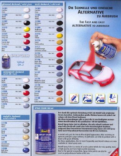 Revell Spray Color Farbe 100 ml, wählen Sie selbst aus 32 Farben
