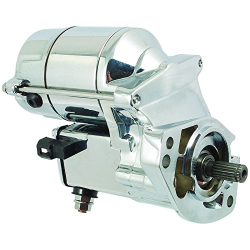 New Chrome Starter Replacement For 1993-2006 Harley Davidson 31553-94 31553-94A 31559-99A 228000-2550 228000-2552